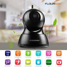 FLOUREON 13MP 960P 1280960 Wifi H264 Wireless CCTV Security TF