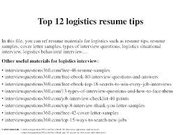 Logistics Resume Samples Sample Resumes Management Specialist Government Inside Military