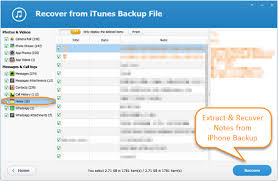 How to Extract & Recover Notes from iPhone Backup Free