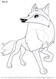 Pin Drawn Wolf Animal Jam 4