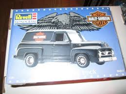 Revell 85-7246 1955 Ford Panel Truck Harley-Davidson Kit 1:24 ...