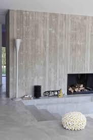 extrem beeindruckende kaminideen aus beton zum stehlen für