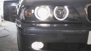 bmw e39 5 series fog light replacement diy