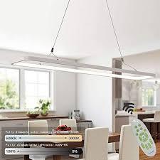 eylm pendelleuchte led hängeleuchte 45w dimmbar pendelle 3000lumen pendeleuchte mit fernbedienung moderne hängele für esszimmer schlafzimmer