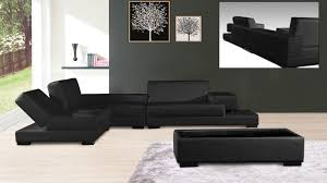 canap modulable cuir canape angle design cuir modulable noir andalucia mobiliermoss