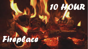 ♥ 10 HOURS ♥ Relaxing Fireplace Video 1080p Full HD