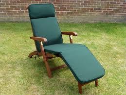 uk gardens green garden furniture garden steamer chair cushion