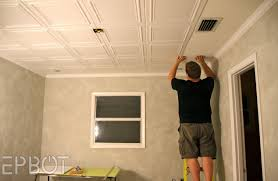 ceiling decorative ceiling tiles before and after photos