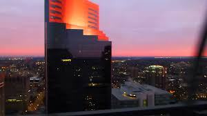 Foshay Tower Museum And Observation Deck by Sunset From Foshay Tower Observation Deck 11 10 13 Youtube