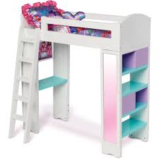 Bunk Bed With Desk Walmart by My Life As Loft Bed Walmart Com