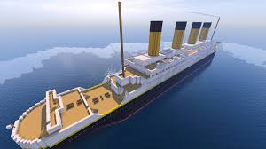 Minecraft Titanic Sinking Map by Rms Titanic