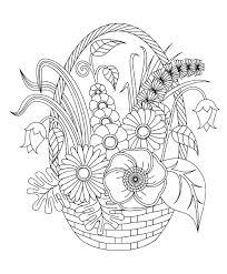 Bouquet De Fleurs Dans Le Vase Dessin Noir Et Blanc Pouvez