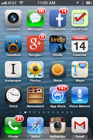 iPhone 4 Home Screen – Jeff Rutherford