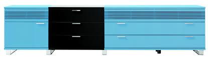 passt perfekt zu einem esszimmer in blautönen sideboard