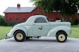 100 Leonard Truck Covers Pure Nostalgia Wrens 1940 Blown Willys Gasser Hot Rod