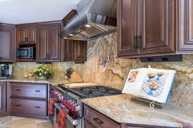 Kitchen Backsplash Ideas With Granite Countertops Installing A Granite Backsplash A Or A Bad Idea