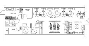 Salon Design Space Planning Floor Plan Layouts for Salons Spas