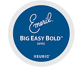 Emeril's Big Easy Bold Coffee K-Cups, 24/Box