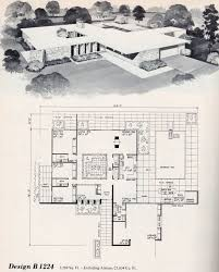 100 Mid Century Modern Home Floor Plans Love This One So Much MCM Architecture Floor Plans