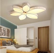 eclairage led chambre acrylique led plafonnier le feuille chambre plafonniers eclairage