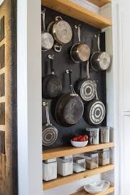 Kitchen Storage Ideas Pinterest by Best 25 Pot Storage Ideas On Pinterest Pot Organization Pan