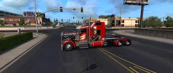 Red Peterbilt Truck Skin - ATS Mod | American Truck Simulator Mod Peterbilt Bumper 579 Set Back Axle Elite Truck Accsories Extended Hood Front Grill For 379 19932007 Post Anything From Anywhere Customize Everything And Find Interior 389 Pack Ats Mods American Truck Simulator Exterior Red Skin Mod Simulator Custom Big Rigs Trailers Trucks Semi Parts 18 Wheelers Truckidcom 2017 72 Sleeper Manual Reefer Outlaw Customs