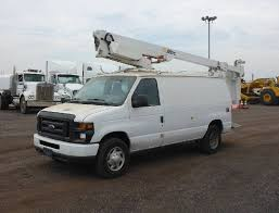 2012 FORD E350 SUPER DUTY BUCKET SERVICE - UTILITY TRUCK FOR SALE #11097