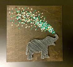 Tackling The String Art Elephant