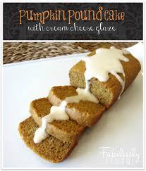 Starbucks Pumpkin Loaf Ingredients by Pumpkin Pound Cake With Cream Cheese Glaze