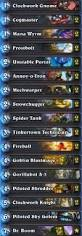 Amaz Deck List by Mech Mage Deck List U0026 Guide April 2016 Hearthstone Metabomb