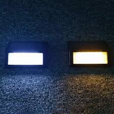 solar powered wall light 6 pack solar 6 led light wall mount