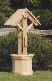 outdoor garden bridal shower wishing well w gift card lid