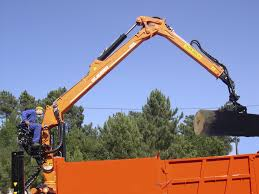 Truck-mounted Forestry Crane / Knuckle Boom - 160N Series ...