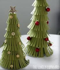holiday craft idea paper christmas trees christmas tree