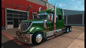 100 Lonestar Truck ETS2 International LoneStar ISX 450hp Engine YouTube