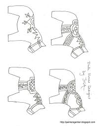 Dala Horse Carving Pattern