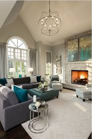Paint Ideas For Living Room With High Ceilings Thisstunninglivingroomisopenedupwiththehighceilings On