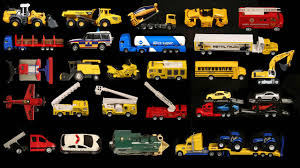 100 Names For A Truck Learning Street Vehicles And Sounds For Kids With Toys Cars