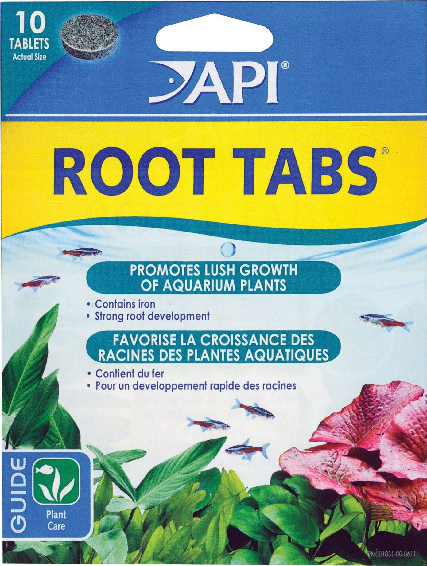 API Root Tabs Plant Aquarium Fertilizer