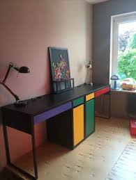 Micke Desk With Integrated Storage Hack by Ikea Micke Desk With Keyboard Tray Ikea Hacks Pinterest