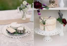 Lavender Wedding Shoots Via Ruffledblog