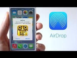 iOS 7 Le fonctionnement de AirDrop
