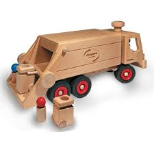 100 Fagus Trucks Wooden Garbage Truck With Rollboxes By Shop