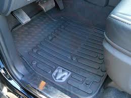 Dodge Dakota Oem Floor Mats by Dodge Ram Front Rubber Crew Cab Or Mega Cab Black Slush Floor Mats