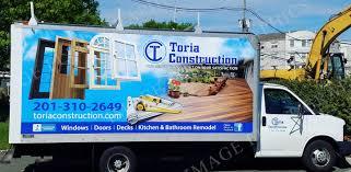 Bathtub Reglazing Clifton Nj by Toria Construction Truck Wrap Clifton Nj Image Fleet Graphics