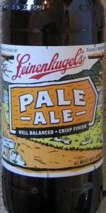 Leinenkugel Pumpkin Spice Beer by Pale Ale Jacob Leinenkugel Brewing Company Beeradvocate
