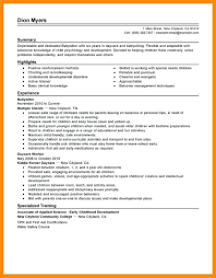 Babysitting Resume Samples Resumes For 3 Babysitter Job Seeking Nanny