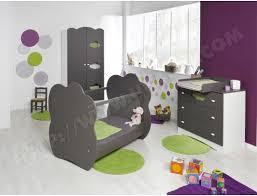 chambre altea lit bébé sofamo altea taupe 60x120 pas cher ubaldi com