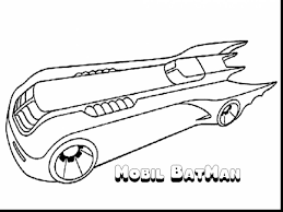 Excellent Batman Car Coloring Pages With Page And