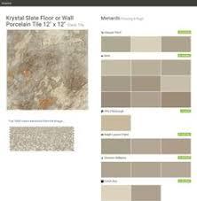 Menards Mosaic Glass Tile by Krystal Slate Mosaic Floor Or Wall Porcelain Tile 3